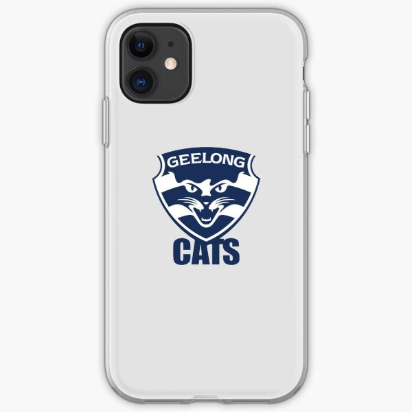 Geelong Cats Afl Iphone Case Cover By Dekss Shop Redbubble