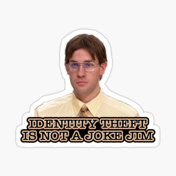 it's not a joke (dwight pack) Sticker