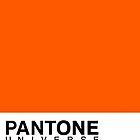 pantone orange 031C by William Åsgårdh