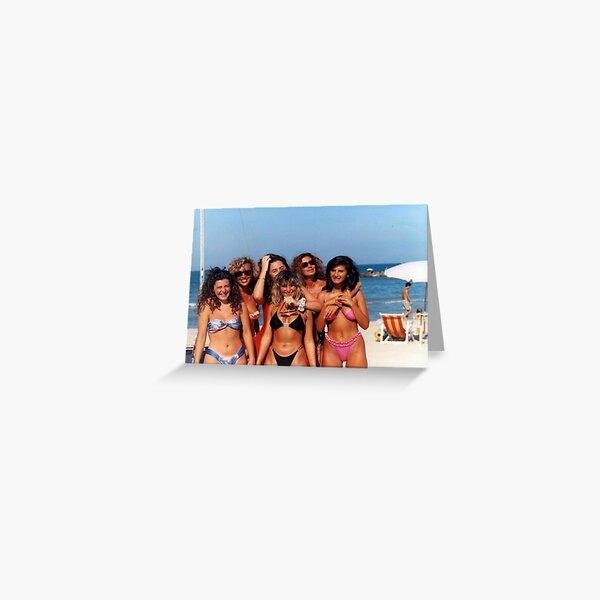 EVELINA,RITA,OLLY,STEFF,GUENDALYN,VALERIE....1990 - ITALIA -EUROPA - VETRINA RB EXPLORE 7 FEBBRAIO 2013 -     Greeting Card
