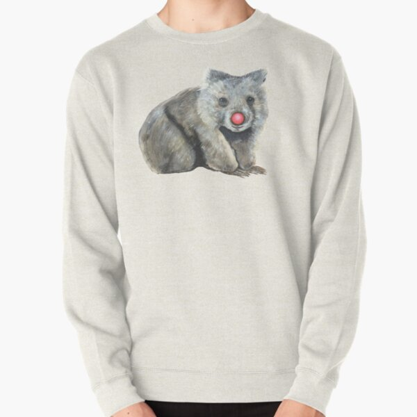 Warren the Wombat Pullover Sweatshirt
