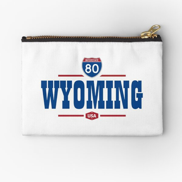 Wyoming Road Map Gifts Merchandise Redbubble