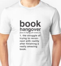 Book Hangover Meaning T-Shirt
