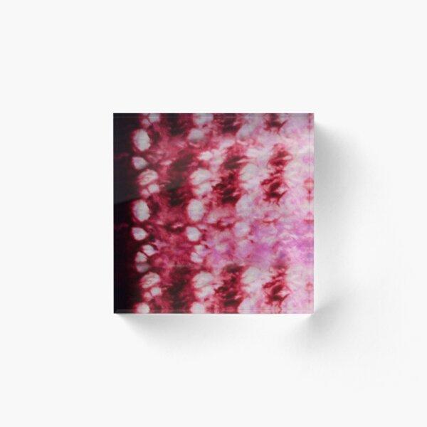Ultra Gradient Shibori Scales Acrylic Block