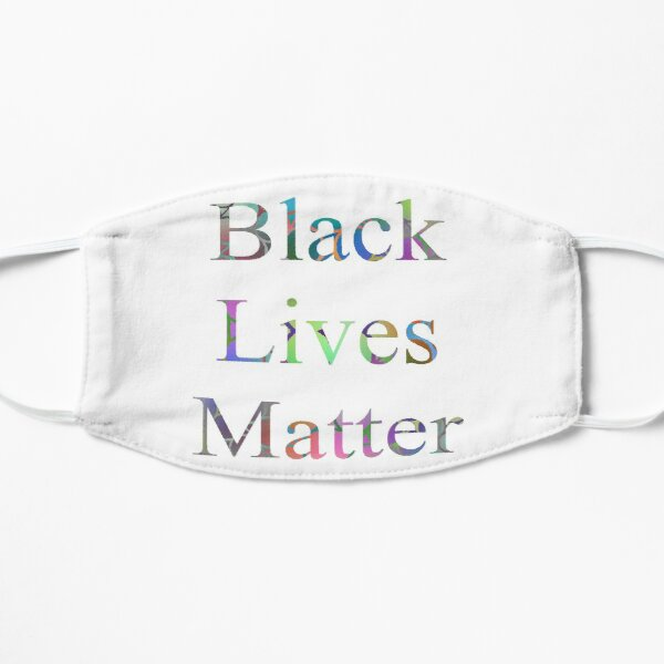 Black Lives Matter Flat Mask