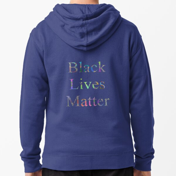 Black Lives Matter Zipped Hoodie