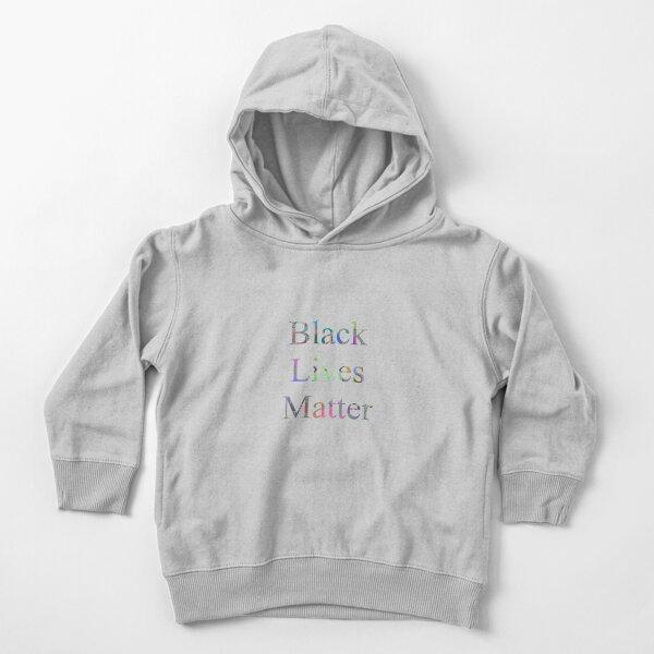 Black Lives Matter Toddler Pullover Hoodie