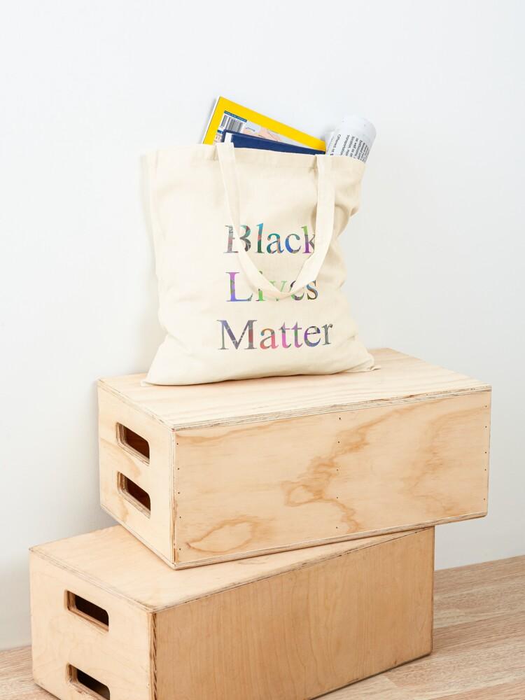 Alternate view of Black Lives Matter Tote Bag