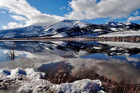 Slide Mountain Reflection by Pamela Hubbard