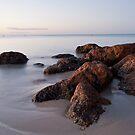 Dusk on the Rocks by GerryMac