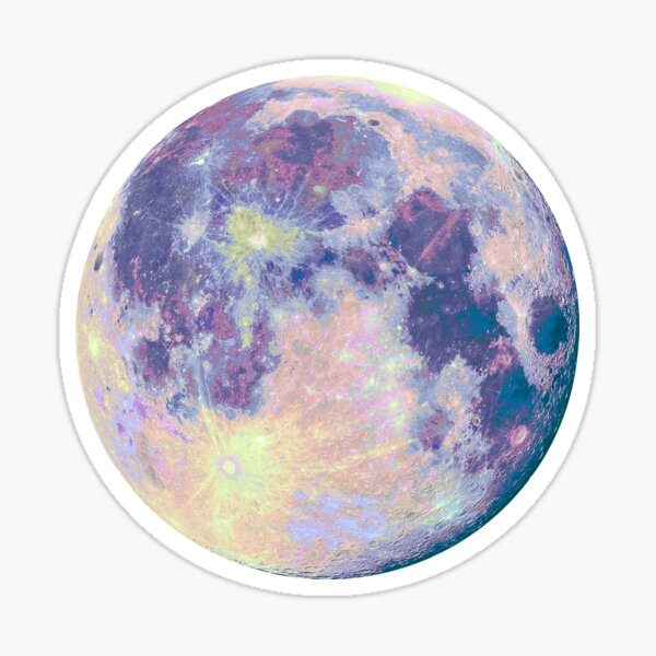 Lune Sticker