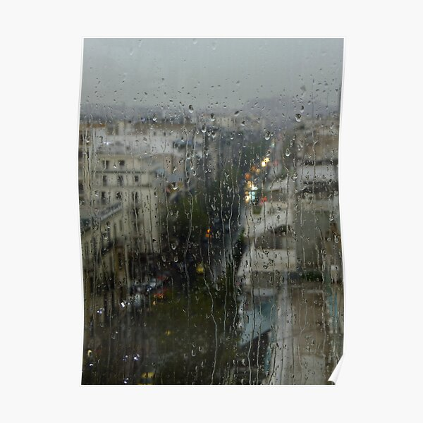 Rain Over Athens Poster