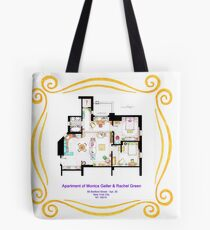 "Apartment of Monica and Rachel from ""FRIENDS"" Tote Bag"