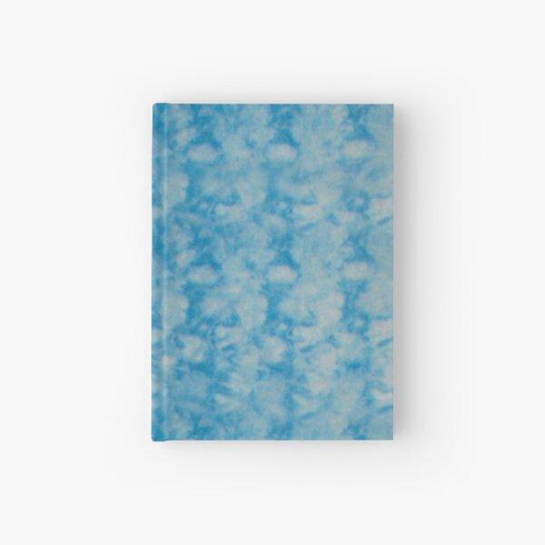 Blue Duo Shibori Scales Hardcover Journal