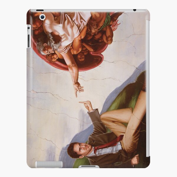 The Creation of Adam (21st Century Edition) iPad Snap Case