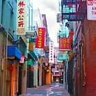 Alley in Chinatown by David Denny
