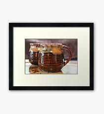 Still-life: Cup Framed Print