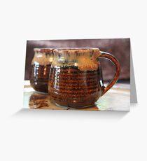 Still-life: Cup Greeting Card