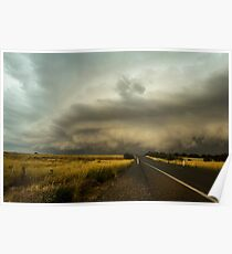 Shelf Cloud - Murrumbateman, NSW Poster