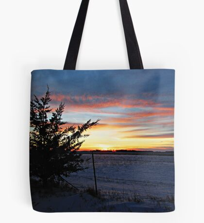 Pastel Plains Tote Bag