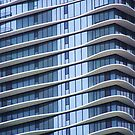 Aqua Tower Detail, Chicago, Illinois, Jeanne Gang by Crystal Clyburn