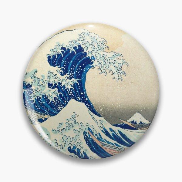 La Grande Vague de Kanagawa Badge
