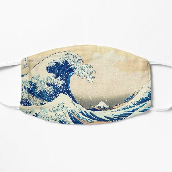 The Great Wave Off Kanagawa Flat Mask