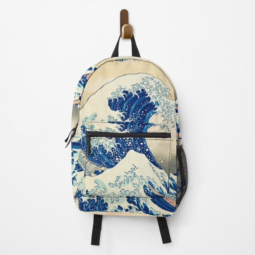 The Great Wave Off Kanagawa Backpack