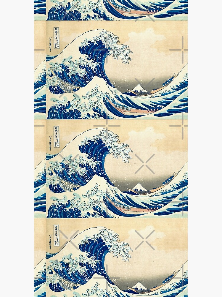 The Great Wave Off Kanagawa by rehabtiger