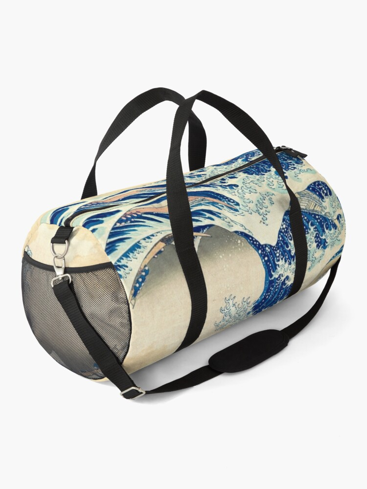 Alternate view of The Great Wave Off Kanagawa Duffle Bag