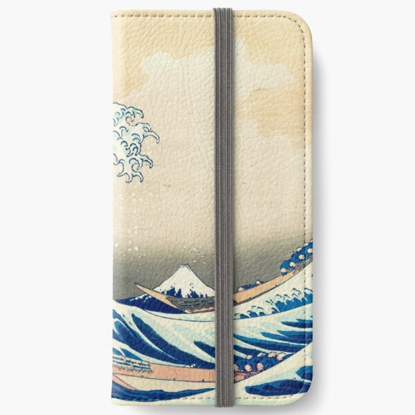 The Great Wave Off Kanagawa iPhone Wallet