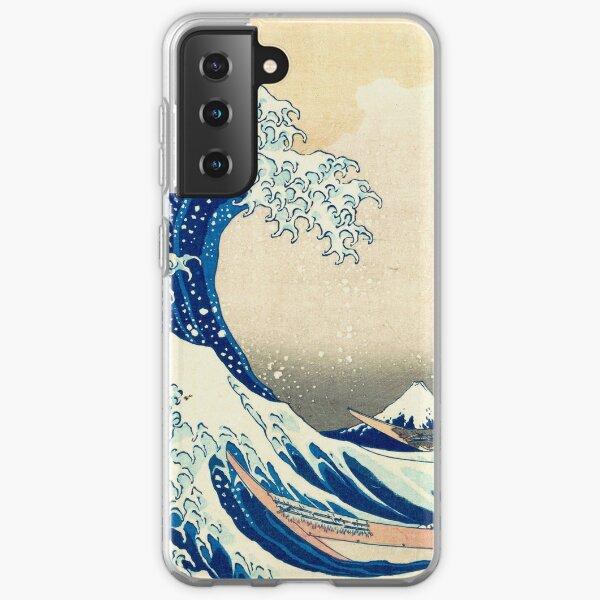 The Great Wave Off Kanagawa Samsung Galaxy Soft Case