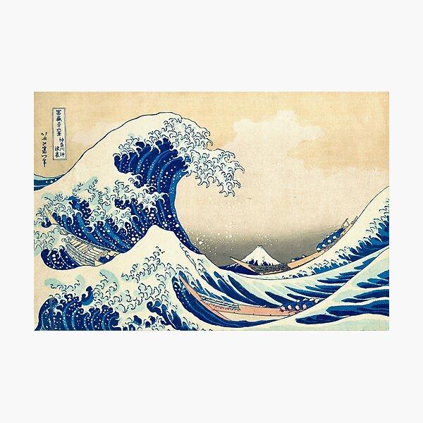 The Great Wave Off Kanagawa Photographic Print