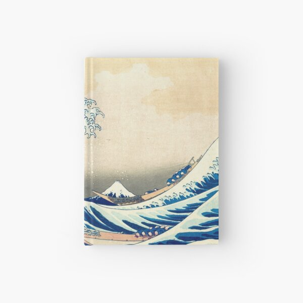 The Great Wave Off Kanagawa Hardcover Journal