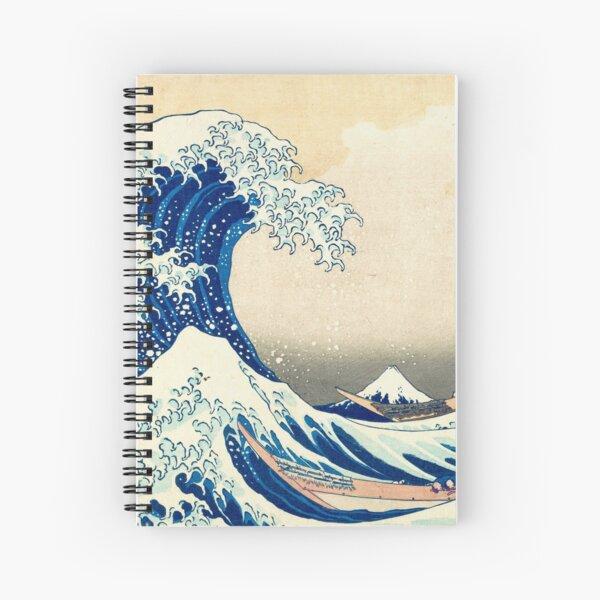 La Grande Vague de Kanagawa Cahier à spirale