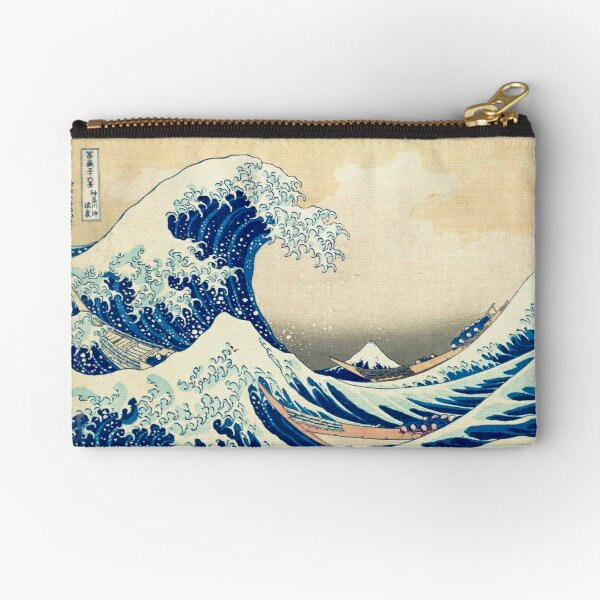 The Great Wave Off Kanagawa Zipper Pouch
