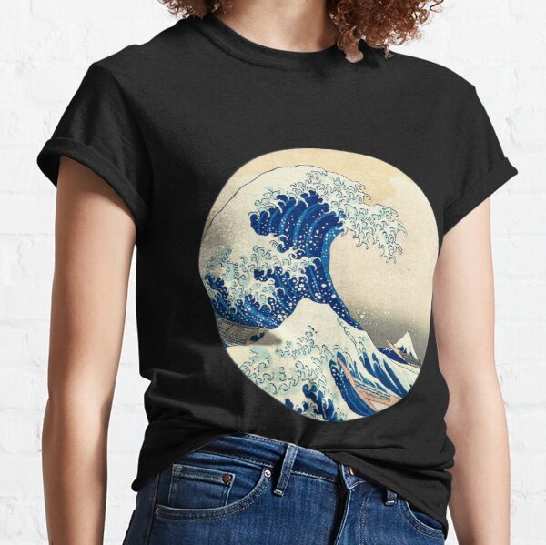 The Great Wave Off Kanagawa Classic T-Shirt
