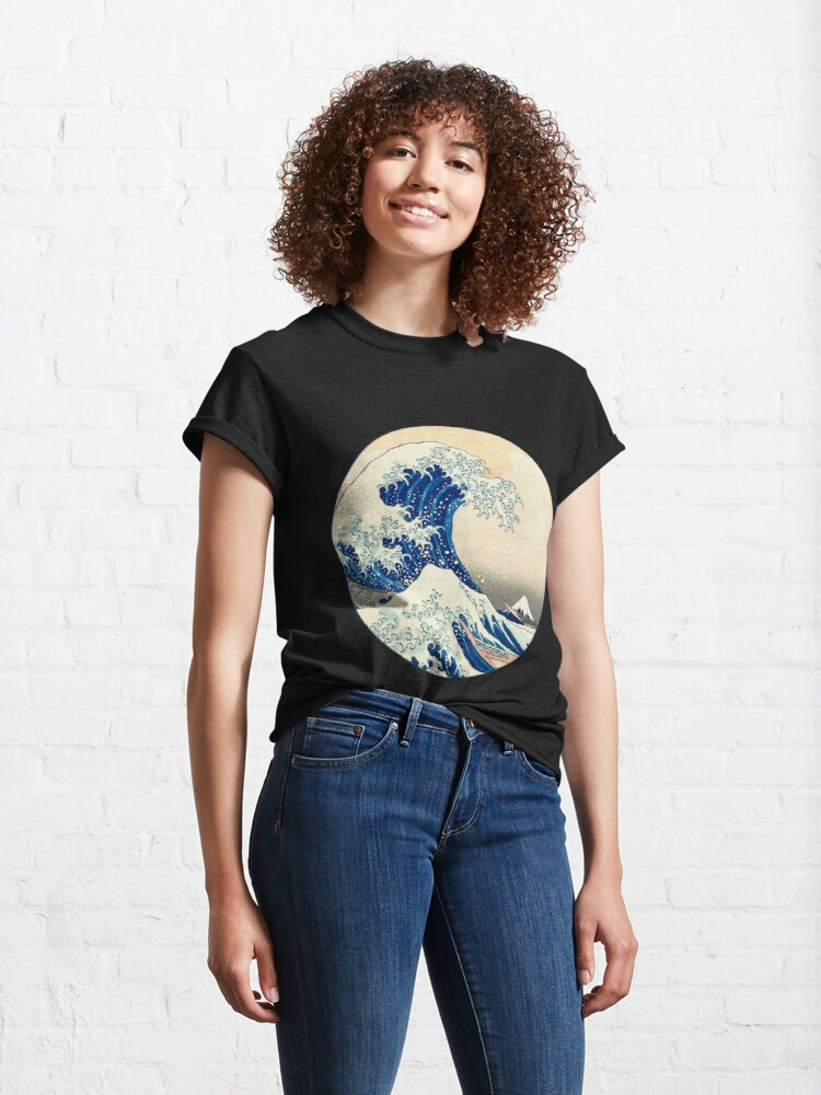 Alternate view of The Great Wave Off Kanagawa Classic T-Shirt