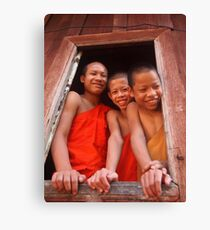 Greetings from Laos Canvas Print