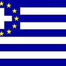 New Greek flag by João Figueiredo