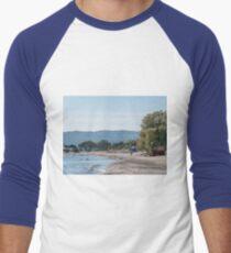 Paradise Beach  Kos   Greece Men's Baseball ¾ T-Shirt