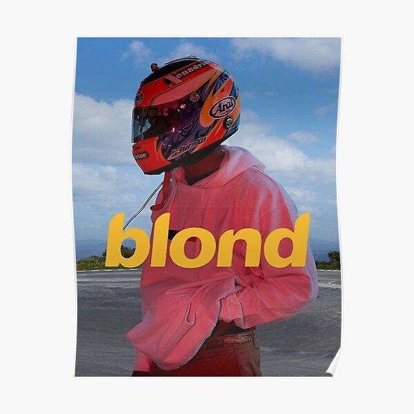 Frank Ocean Blond 1 Póster