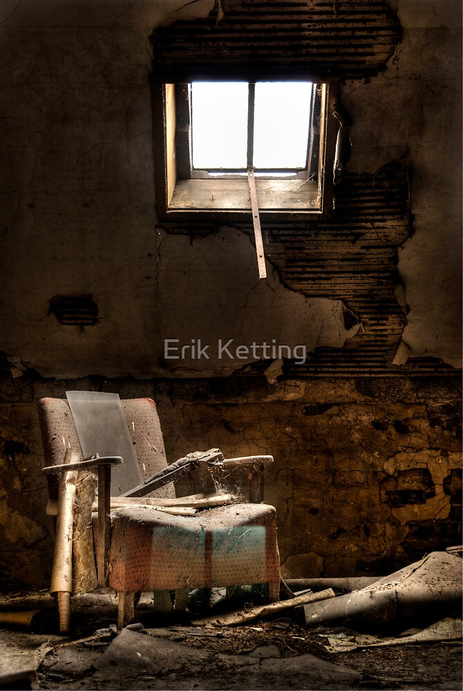 Lonely Chair by Erik Ketting