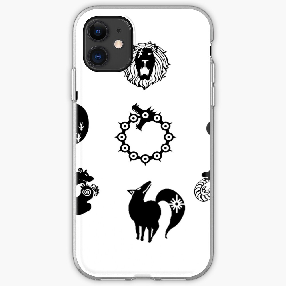 The Seven Deadly Sins iPhone Case & Cover