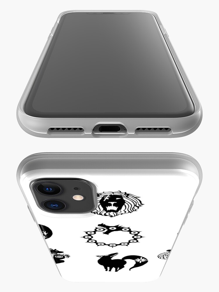 Alternate view of The Seven Deadly Sins iPhone Case & Cover