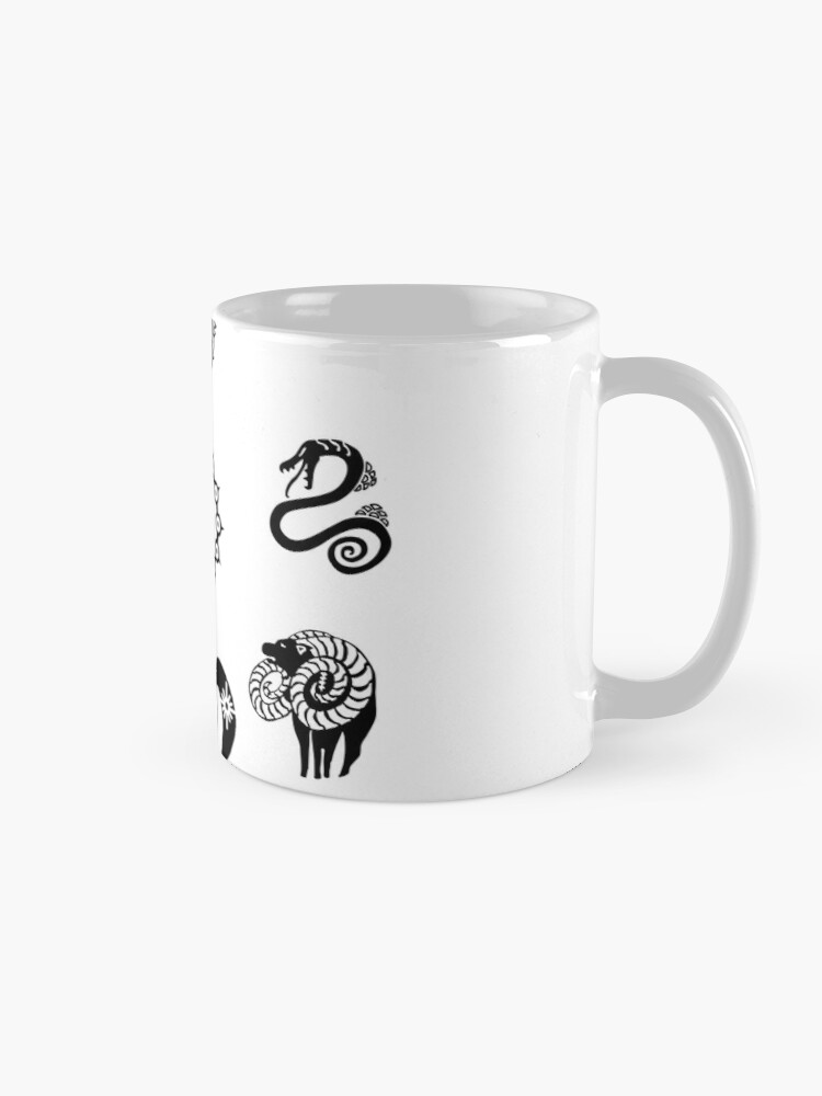 Alternate view of The Seven Deadly Sins Mug