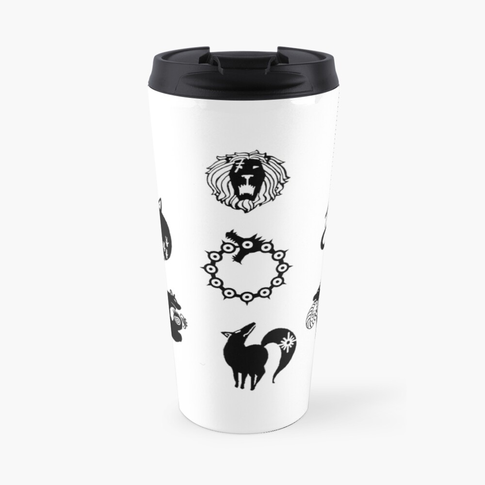 The Seven Deadly Sins Travel Mug