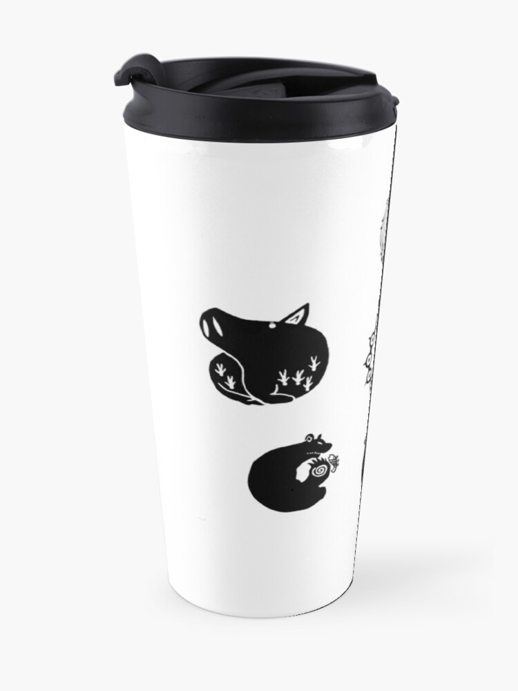 Alternate view of The Seven Deadly Sins Travel Mug