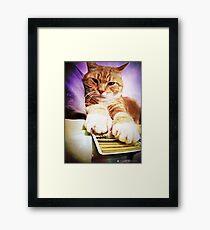 Tarot Reader Framed Print