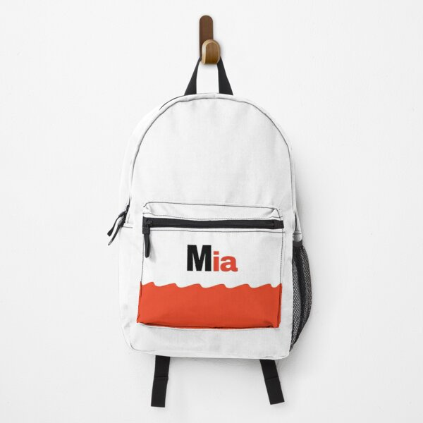 Mia sweet funny guy boy kid men name gift  Backpack